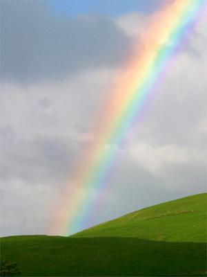 En algún lugar sobre el arcoiris